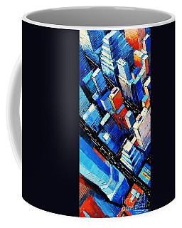 Abstract New York Sky View Coffee Mug