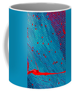 Abstract Original Artwork One Hundred Phoenixes Untitled Number Eleven Coffee Mug