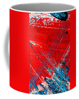 Abstract Original Artwork One Hundred Phoenixes Untitled Number Five Coffee Mug