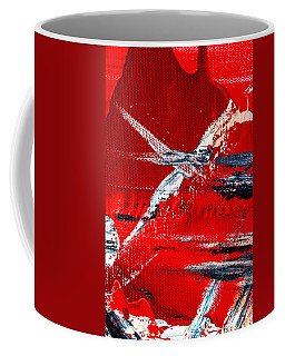 Abstract Original Artwork One Hundred Phoenixes Untitled Number Seven Coffee Mug