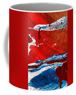 Abstract Original Artwork One Hundred Phoenixes Untitled Number Three Coffee Mug