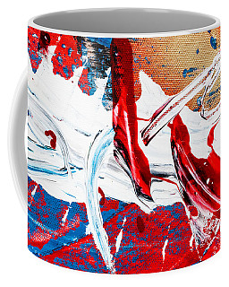Abstract Original Artwork One Hundred Phoenixes Untitled Number Two Coffee Mug