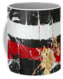 Abstract Original Painting Number Five Coffee Mug