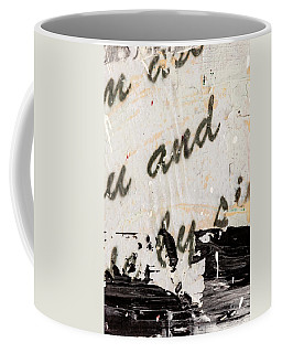 Abstract Original Painting Number Six Coffee Mug