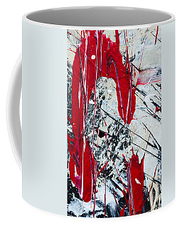 Abstract Original Painting Untitled Nine Coffee Mug