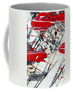 Abstract Original Painting Untitled Ten Coffee Mug
