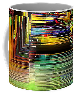 Abstract Perspective E3 Coffee Mug