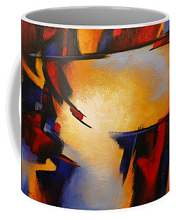 Abstract Red Blue Yellow Coffee Mug