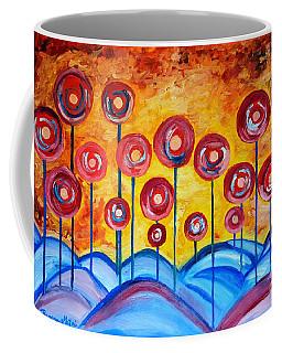 Abstract Red Symphony Coffee Mug