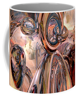 Abstract Reflecting Rings Coffee Mug