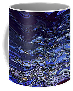 Abstract Reflections - Digital Art #2 Coffee Mug