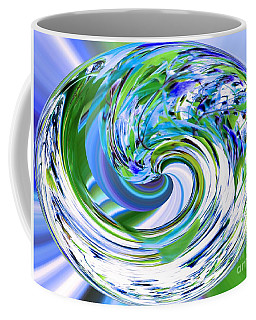 Abstract Reflections Digital Art #3 Coffee Mug