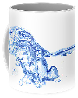 Abstract Soar Water  Coffee Mug