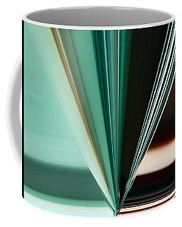 Abstract - Teal - Aqua - Five Coffee Mug
