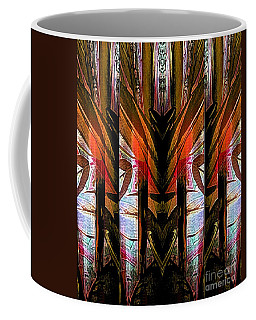 Abstract Tiki Coffee Mug