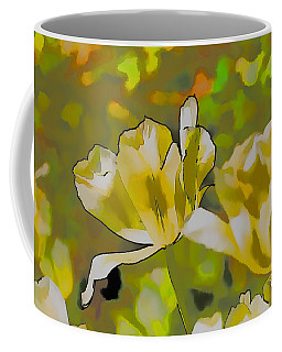 Coffee Mug featuring the photograph Abstract Tulip by Leif Sohlman