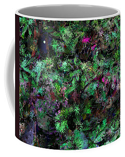 Coffee Mug featuring the digital art Abstraction 121514 by David Lane