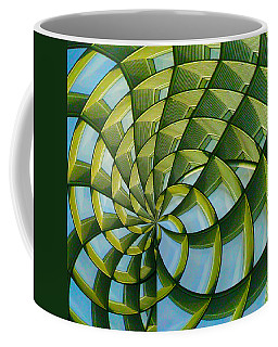 Coffee Mug featuring the photograph Abstraction A La M. C. Escher by Gary Holmes