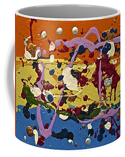 Abstracts 14 - The Circus Coffee Mug