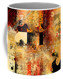 Abstracture - 103106046f Coffee Mug by Variance Collections