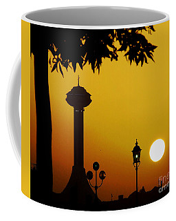 Coffee Mug featuring the photograph Abu Dhabi by Andrea Anderegg