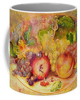 Coffee Mug featuring the painting Abundance 1 by Brooks Garten Hauschild