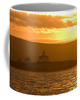 Coffee Mug featuring the photograph Acadia Lighthouse  by Sebastian Musial