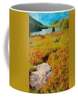 Acadia Spring Coffee Mug by Jeff Kolker
