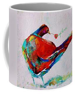 Accept Love Coffee Mug by Jean Cormier