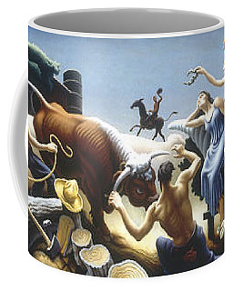 Achelous And Hercules Coffee Mug