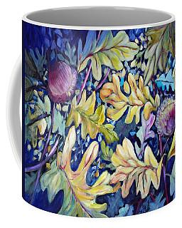 Acorns And Oak Leaves Coffee Mug