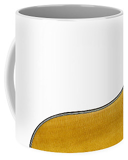 Coffee Mug featuring the photograph Acoustic Curve by Bob Orsillo
