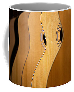 Coffee Mug featuring the photograph Acoustic Design by John Rivera