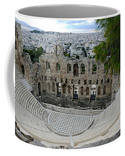 Acropolis Theater Athen - Greece Coffee Mug