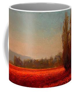 Across The Tulip Field - Horizontal Landscape Coffee Mug
