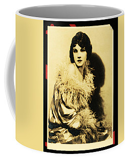 Coffee Mug featuring the digital art Actress Eileen Wenzel by David Blank