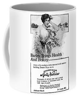 Ad Malt-nutrine, 1911 Coffee Mug