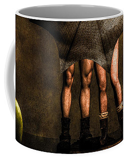 Adam And Eve Coffee Mug by Bob Orsillo