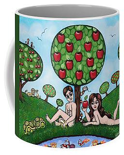 Adam And Eve The Naked Truth Coffee Mug