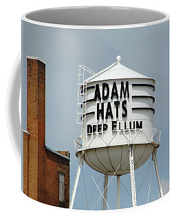 Coffee Mug featuring the photograph Adam Hats In Deep Ellum by Charlie and Norma Brock