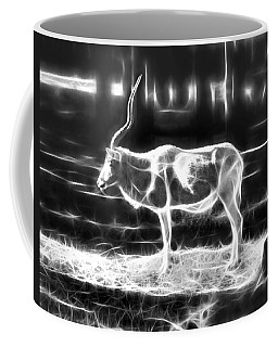 Addax Spirit Of The Desert Coffee Mug by Miroslava Jurcik