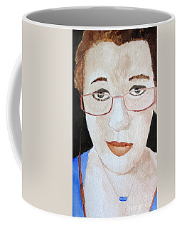 Addie Two Coffee Mug by Sandy McIntire