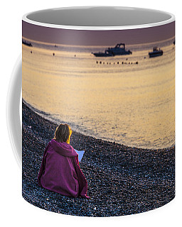 Addressing A Prayer For The New Day Coffee Mug