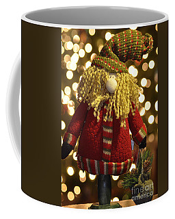 Adirondack Santa  Coffee Mug by Diane E Berry