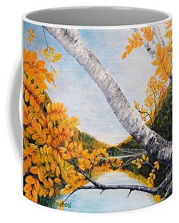 Adirondacks New York Coffee Mug by Holly Carmichael