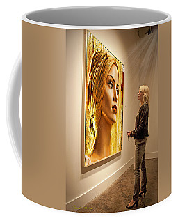 Admiring Beauty Coffee Mug