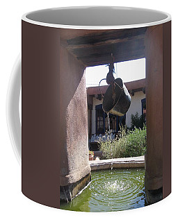 Coffee Mug featuring the photograph Adobe Water Well In New Mexico by Dora Sofia Caputo Photographic Art and Design