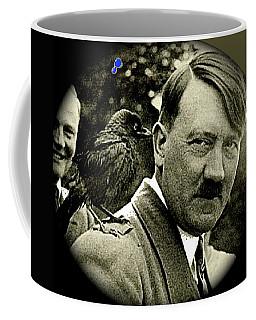 Adolf Hitler And A Feathered Friend C.1941-2008 Coffee Mug