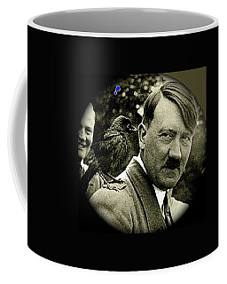 Adolf Hitler And A Feathered Friend C.1941-2008 Coffee Mug
