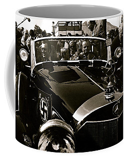 Adolf Hitler's 1941 Mercedes-benz 770-k Touring Car Sold At Auction Scottsdale Arizona 1973 Coffee Mug